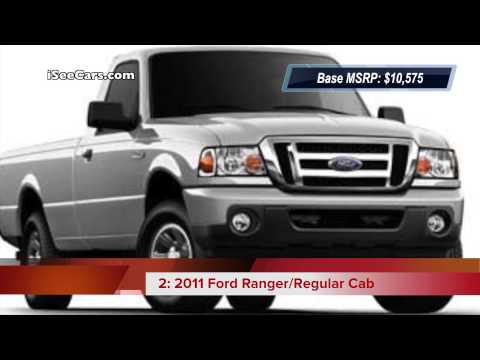 Top 5 Used Trucks with the Best Gas Mileage
