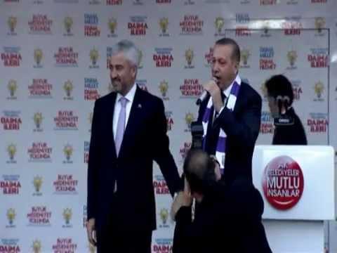 Başbakan Recep Tayyip Erdoğan Ak Parti Ordu Mitingi FULL KALİTE LOGOSUZ 24.03.2014