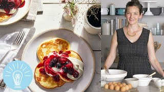 Cowgirl Creamery's Cottage Cheese Pancakes | Genius Recipes