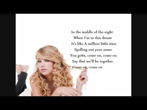 untouchable - taylor swift lyrics