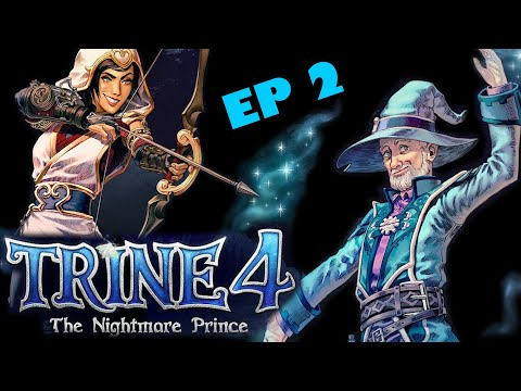 TRINE 4 LET'S PLAY (EP2) - The Nightmare Prince - Funny Moments - CO OP LETSPLAY - RoofTunnel |