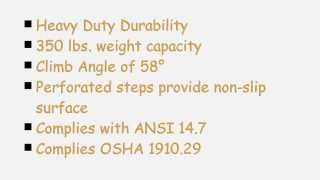 3 Step Portable Folding Step Ladder (flad-3), Heavy Duty