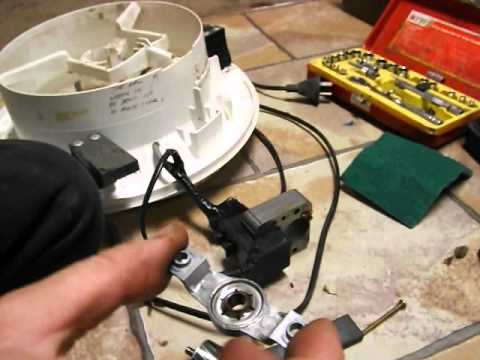 how to service a shaded pole motor(correctly) - YouTube