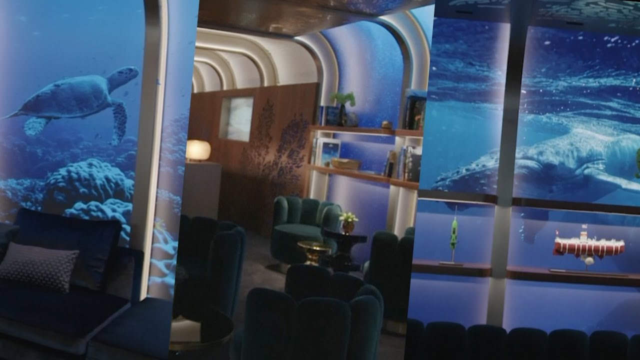 Oscars 2019: Green room gets aquatic theme featuring whales, sea turtles