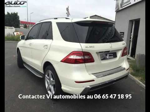 mercedes classe ml 350 occasion visible colomiers pr sent e par vl automobiles youtube. Black Bedroom Furniture Sets. Home Design Ideas