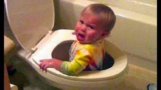 Es peligroso mirar Puedes morir de la risa - Compilación de bebés divertidos