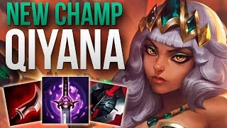 NEW CHAMPION QIYANA IS AMAZING! | CHALLENGER QIYANA TOP GAMEPLAY | Patch 9.13 S9