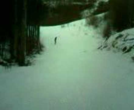 Fabio Zunino 360 in snow