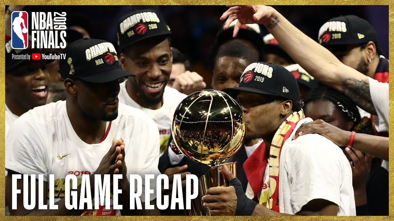 How the Raptors Won Their First NBA Championship