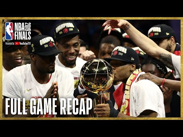 RAPTORS vs WARRIORS | Toronto Wins First NBA Championship! | NBA Finals Game 6