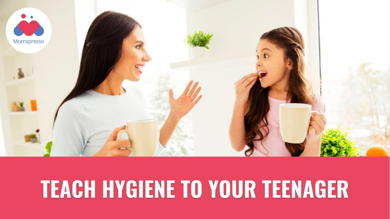 Adolescent hygiene: how to talk to a child