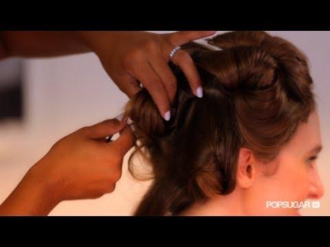 Vintage Hairstyle Idea For Long Hair Hair Tutorial Bella