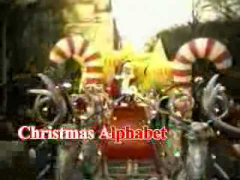 Christmas alphabet song karaoke - YouTube