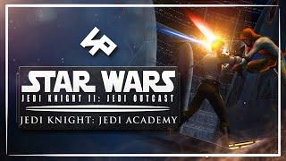 Star Wars: Jedi Knight - Jedi Outcast и Jedi Academy. Золотой дуэт Кайла и Джейдена | Игрореликт