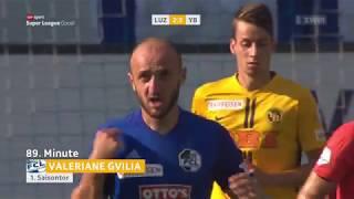Luzern - Young Boys 2:3 12.08.2018