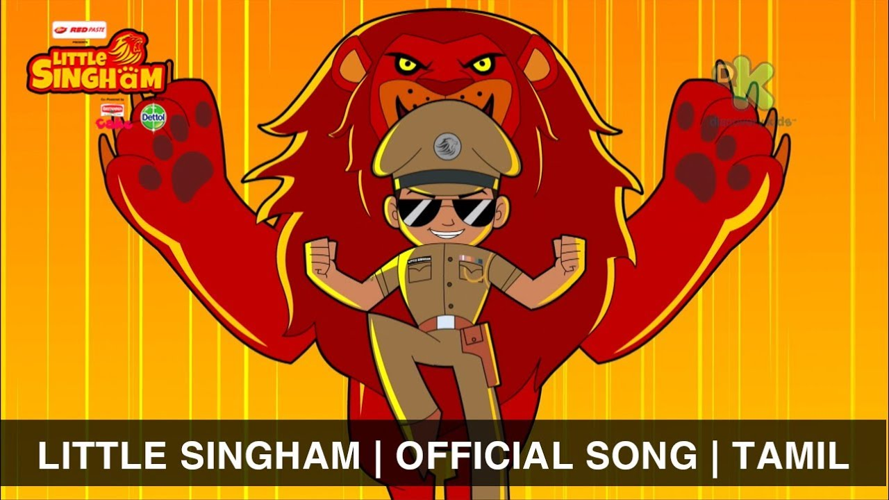 Little Singham Official Song Police Ki Vardi Sher Ka Dum Tamil