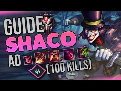 GUIDE SHACO AD - COMMENT ROULER SUR VOS GAMES ? (Tuto shaco AD)