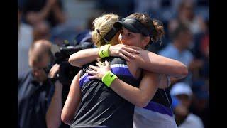 Belinda Bencic vs Donna Vekic | US Open 2019 Quarter-Final Highlights