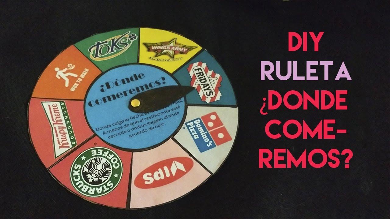 como hacer una ruleta facil