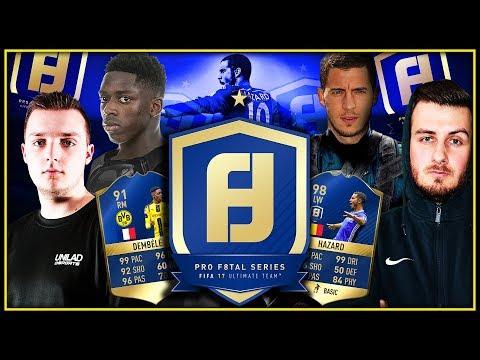 PRO F8TAL 🔥 TOTS HAZARD - QUARTERFINAL vs GORILLA // FIFA 17 ULTIMATE TEAM