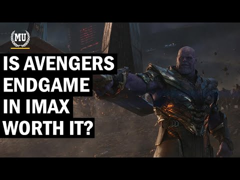Is Avengers Endgame in IMAX worth it?