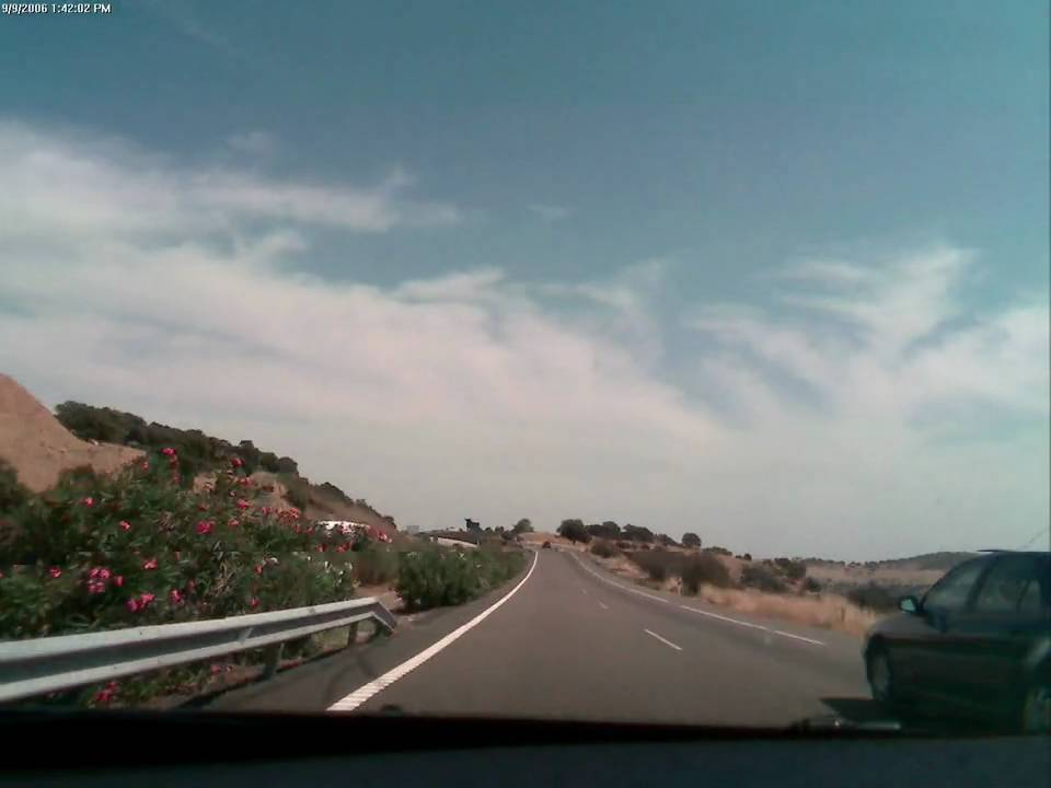 Driving In Spain Towards Madrid From Granada Time Lapse Youtube