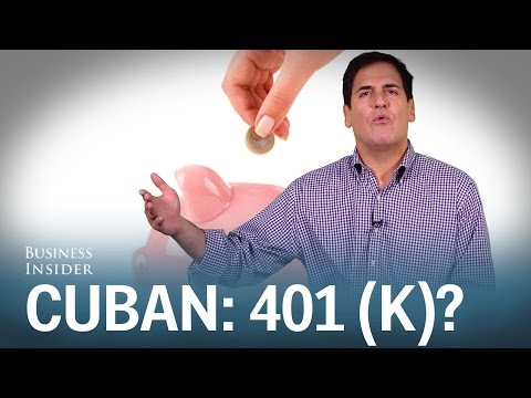 Mark Cuban Explains Why A 401(k) Is A No-brainer