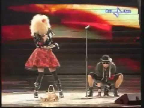 Loredana Bertè & Ivana Spagna - Musica e Parole - Sanremo 2008.wmv