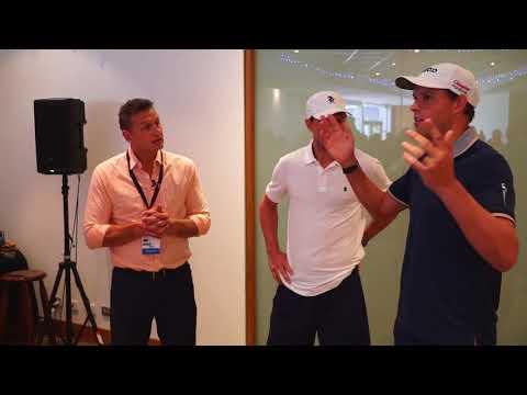 Bryan Brothers thank the volunteers | World Tennis Challenge 2018