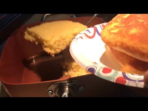 How To Make Stovetop Jiffy Cornbread (no Bake No Flip)