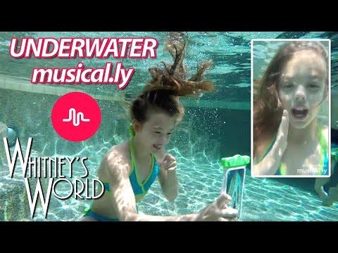 Underwater Musical.ly | Whitney Bjerken
