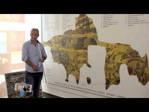 The explanation of the Madaba Map in Jordan (Part 2)