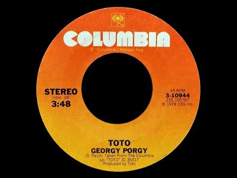 Toto ft Cheryl Lynn ~ Georgy Porgy 1978 Disco Purrfection Version