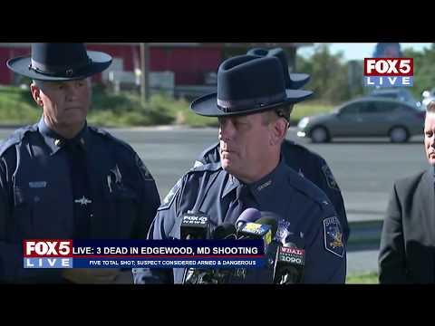 FOX 5 LIVE (10/18): Employee kills 3 and injures 2 in Edgewood, MD; manhunt underway