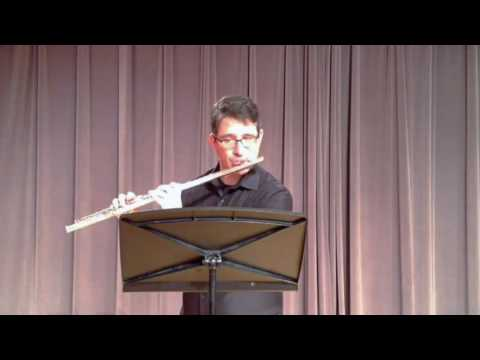 OkMEA 2016-17 All-State Flute Etude Second Round: Romanza - C# minor - Andersen