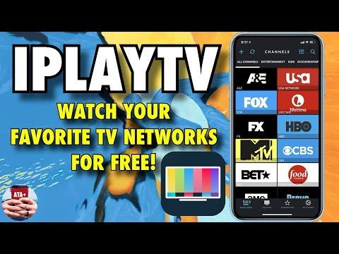 STREAM YOUR FAVORITE NETWORKS WITH IPLAYTV FOR FREE! NO