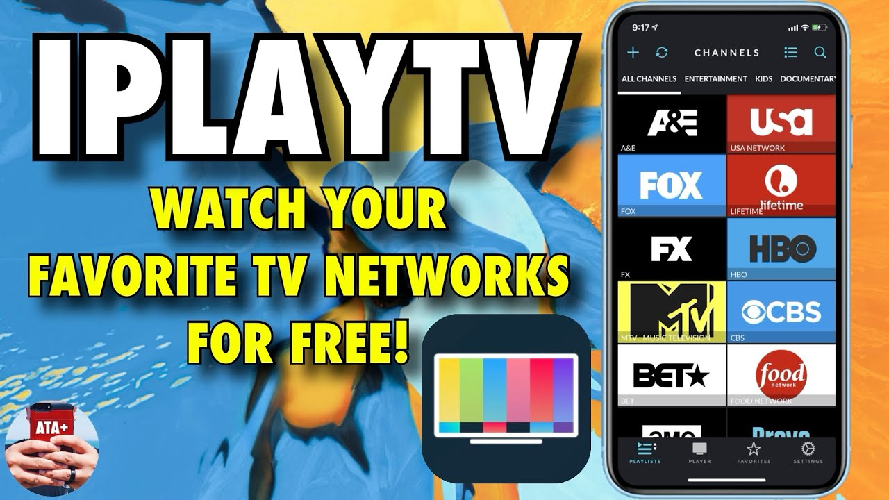 STREAM YOUR FAVORITE NETWORKS WITH IPLAYTV FOR FREE! NO JAILBREAK ON IOS 12!