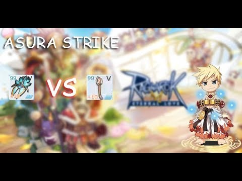 CHAMPION ASURA STRIKE GIANT GLOVES VS SLASH - Ragnarok Mobile Eternal Love