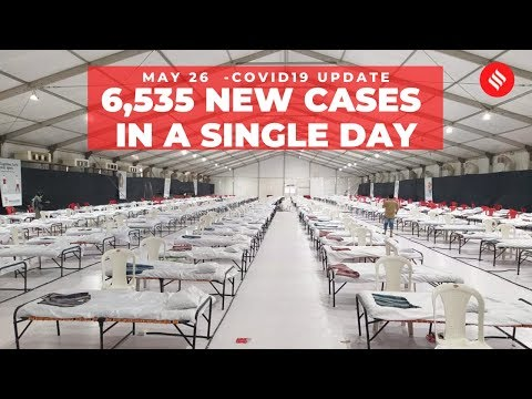 Coronavirus On May 26,  6,535 New Cases In A Single Day
