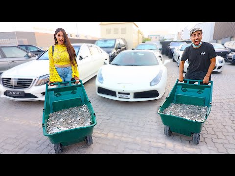 I Bought my Dream Car Using Only Coins !!!
