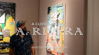 "A. Rivera   ""Ode to Basquiat"""