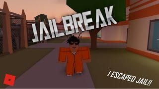 I ESCAPED!! || ROBLOX - Jailbreak