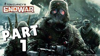 Tom Clancy's EndWar Walkthrough Episode 1 [PS3 - No Commentary]
