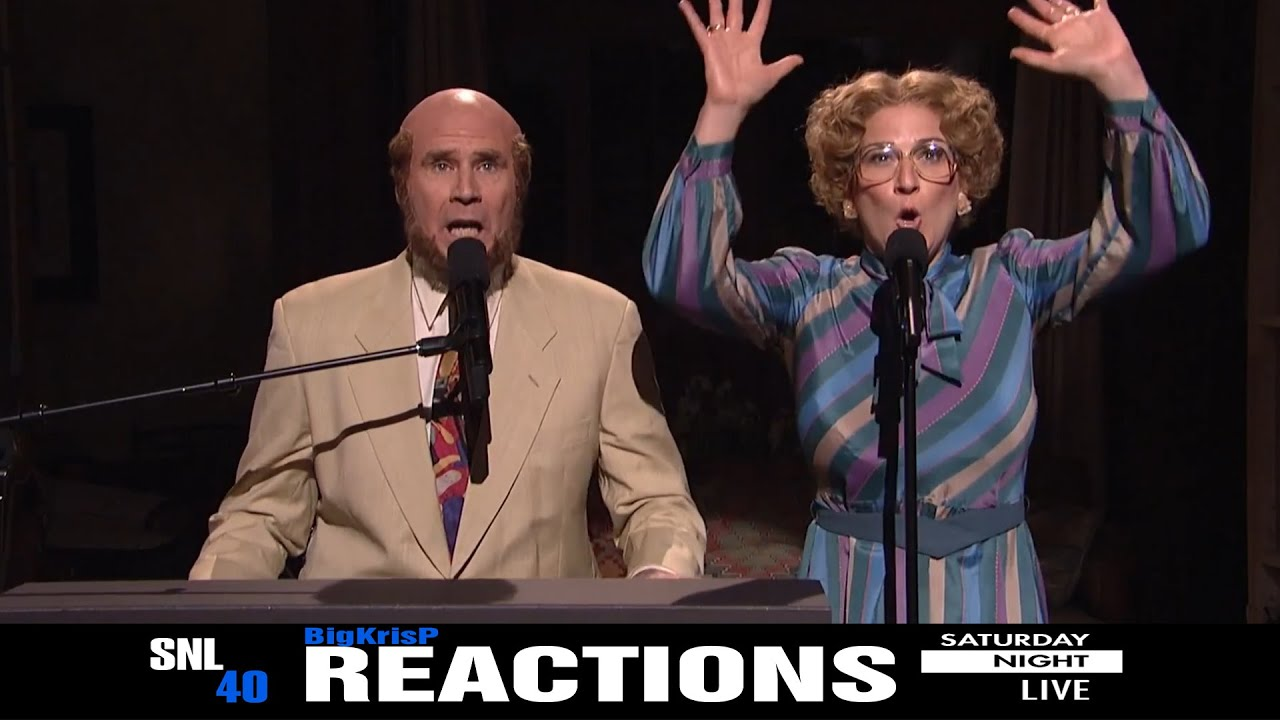 SNL 40th Anniversary Special Marty & Bobbi Culp ~ REACTIONS