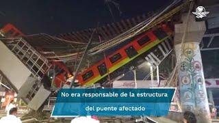 La compañía DB Engineering & Consulting GmbH, lamentó la pérdida de vidas durante el accidente; aclaró que no es responsable de la estructura del puente afectado, ni directa o indirectamente