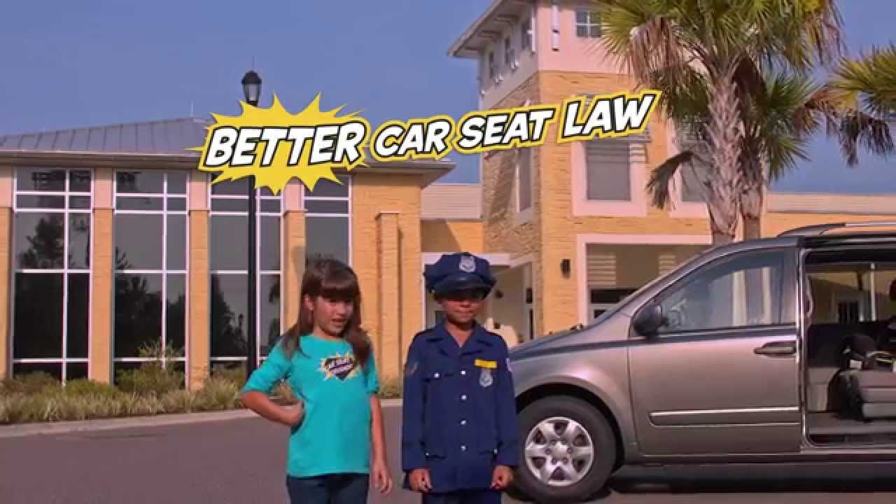 Florida Child Car Seat Safety Law Full 60 PSA