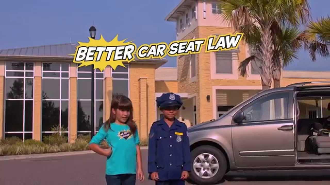 Florida Child Car Seat Safety Law Full 60 PSA
