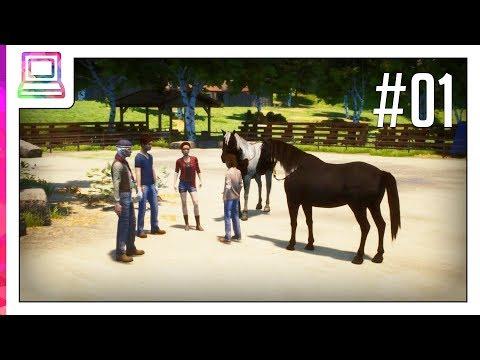 Windstorm - Ari's Arrival (Part 1) (Horse Game)
