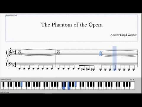 The Phantom of the Opera - Free PDF - Easiest Piano Version