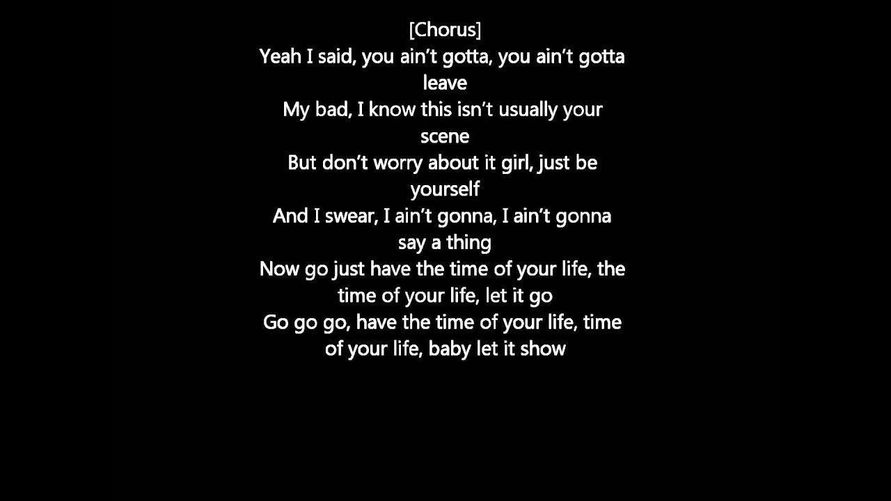 Time of Your Life Lyrics - Kid...